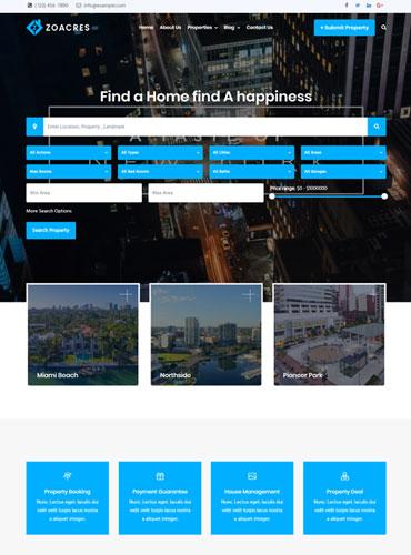 Best Real estate WordPress theme 2020