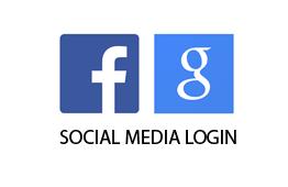Real estate WordPress theme with social media login